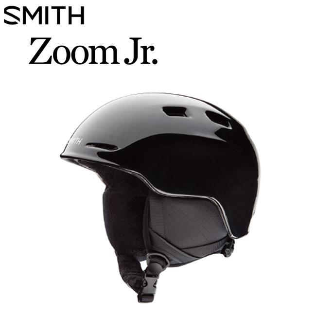 ヘルメット スミス 子供用 SMITH Zoom Jr. BLACK 19-20 国内正規品 スノーボード用 スキー用 SKI プロテクター