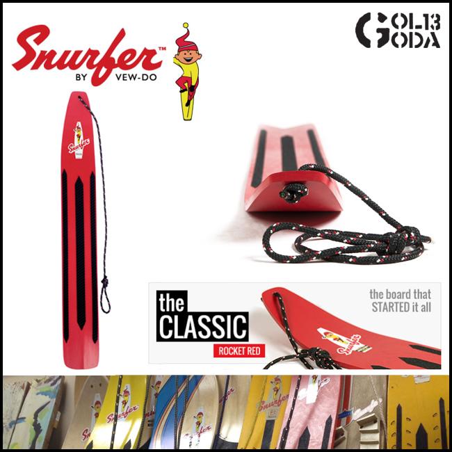 スナーファー SNURFER ROCKED RED 50年前のスノーボードの原点 スノーボード/サーフィン/スノボ/ソリ/そり