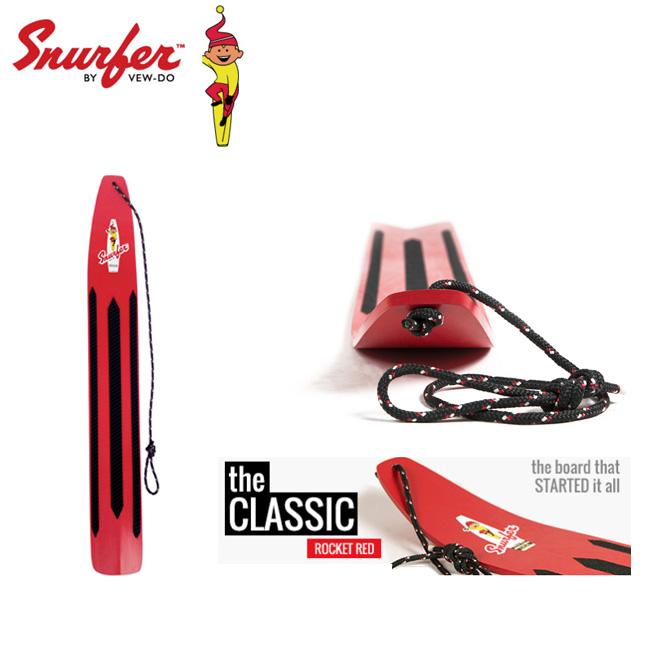 スナーファー SNURFER ROCKED RED 50年前のスノーボードの原点 スノーボード/サーフィン/スノボ/ソリ/そり【店頭受取対応商品】