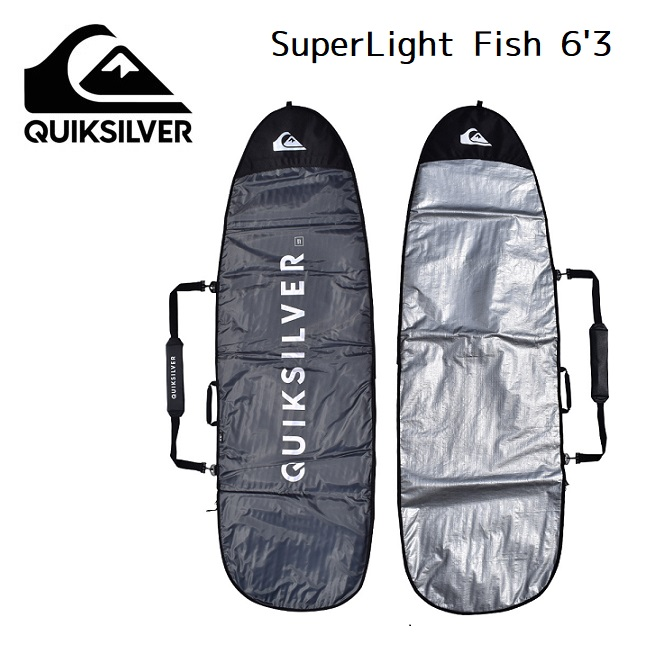 ハードケース QUIKSILVER クイックシルバー Super Light Fish 6'3