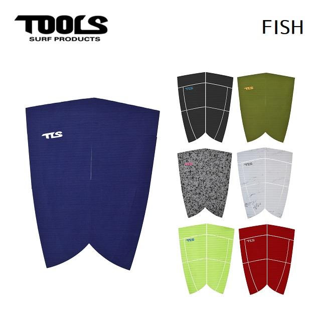 ツールス デッキパッド 永遠の定番 TOOLS FISH デッキパッチ フィッシュボード レトロボード サーフィン メーカー再生品
