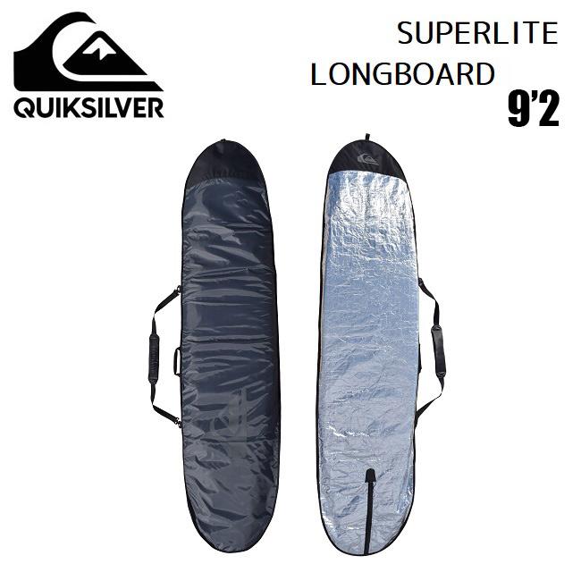 モデル着用&注目アイテム QUIKSILVER SURFBOARD CASE ハードケース クイックシルバー Super Light 在庫限り FISHBOARD ミッドレングス サーフボードケース 9'2