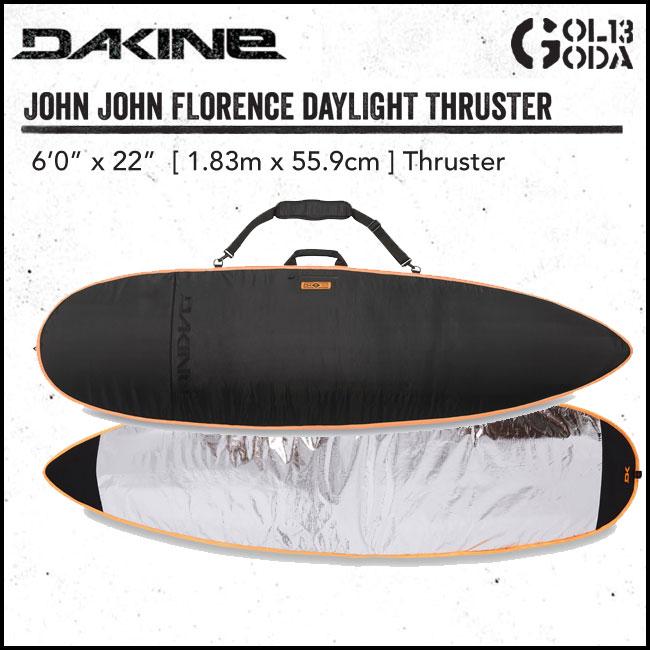 ハードケース DAKINE ダカイン JOHN JOHN FLORENCE DAYLIGHT THRUSTER (6'0) ショートボード サーフィン