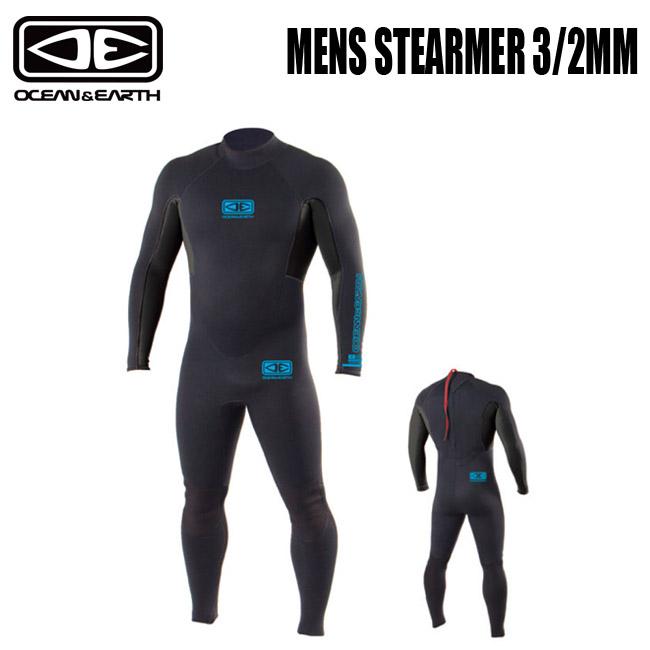 メンズ ウエット OCEAN&EARTH WET フルスーツ MENS STEARMER 3/2mm WET ネオプレーン【店頭受取対応商品】