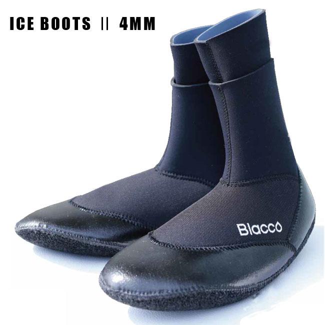 新世代二重構造防水型 Blacco ICE 4mm BOOTS 2 冬用サーフブーツ グローブ【店頭受取対応商品】