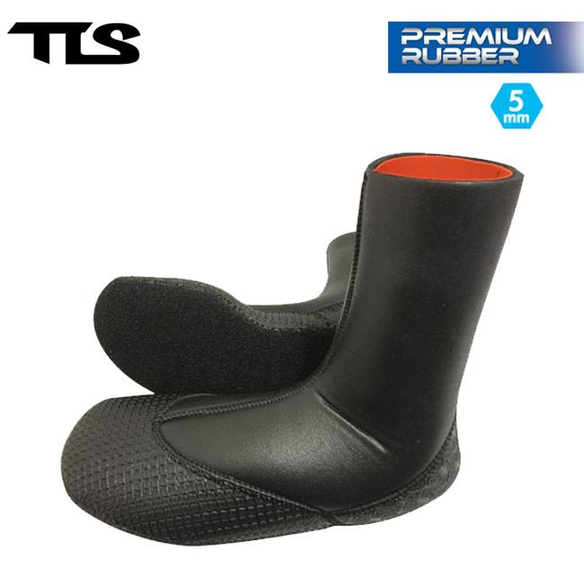 サーフブーツ TOOLS TLS PREMIUM RUBBER BOOTS 5mm サーフィン 冬用 メンズ レディース【店頭受取対応商品】