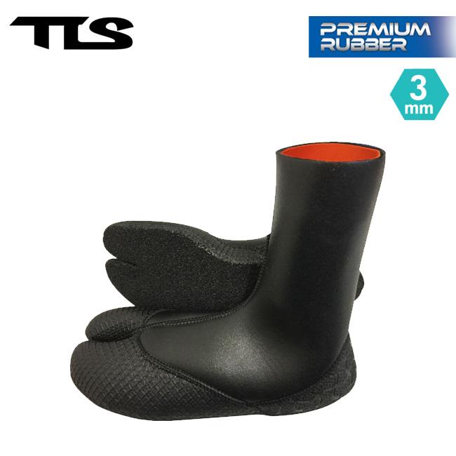 サーフブーツ TOOLS TLS PREMIUM RUBBER BOOTS 3mm サーフィン 冬用 メンズ レディース【店頭受取対応商品】