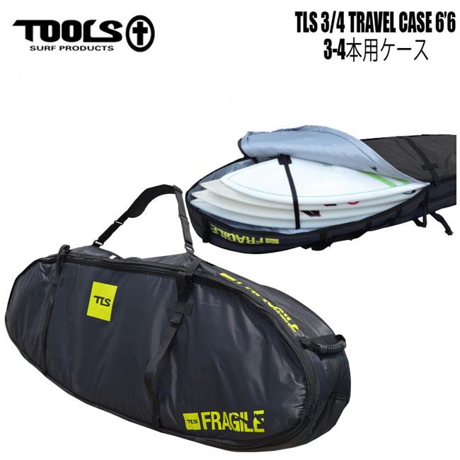 高質 トラベルケース 3/4 TOOLS TLS 3 TRAVEL/4 TRAVEL CASE Short ショートボード用 6'6 ショートボード用 ハードケース サーフボードケース トリップ【店頭受取対応商品】, オオノムラ:994ce9ca --- clftranspo.dominiotemporario.com