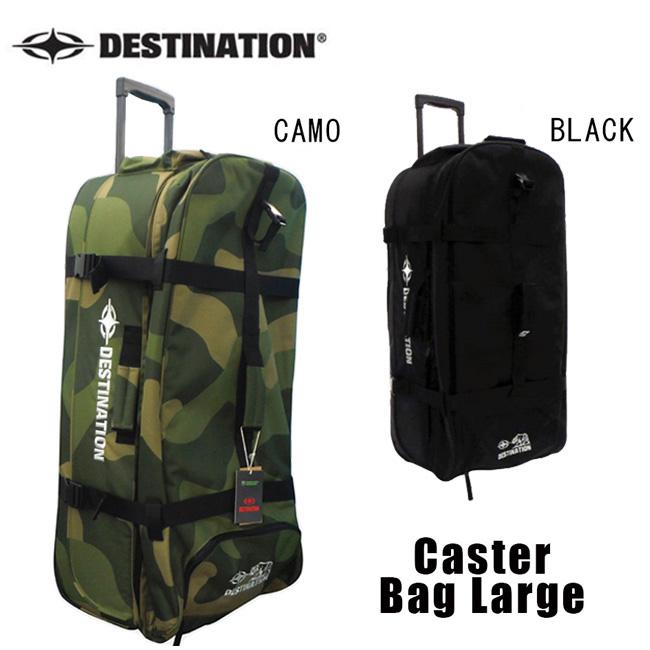 トラベルバッグ DESTINATION Caster Bag Large スーツケース 125L【店頭受取対応商品】