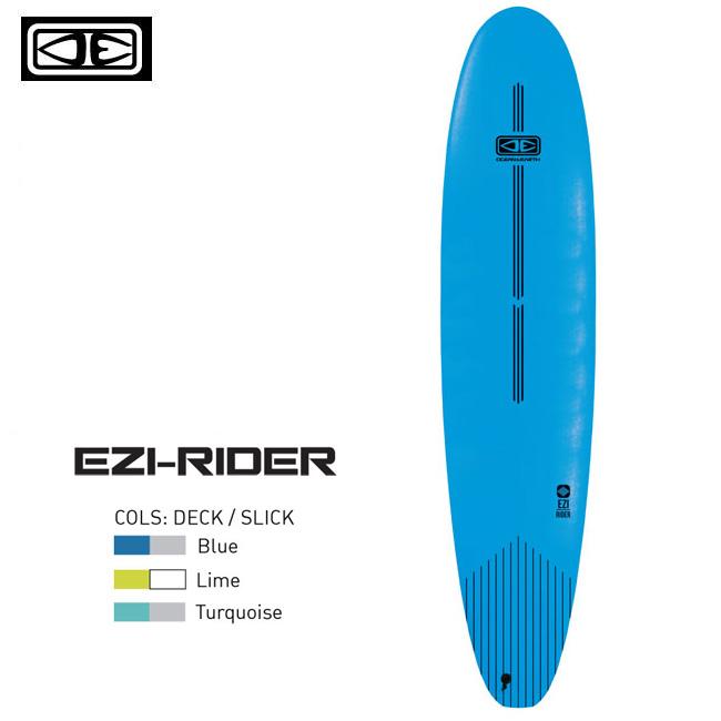 ソフトボード OCEAN&EARTH EZI RIDER 9'0 ロングボード サーフボード サーフィン 初心者用 ビギナー スポンジボード【店頭受取対応商品】