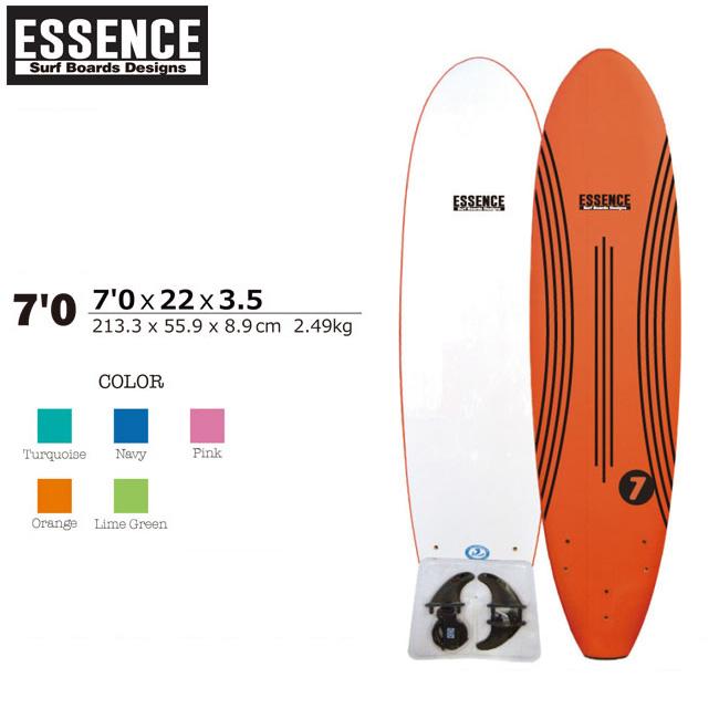 ソフトボード サーフィン ESSENCE SOFT BOARDS 7'0 SURFBOARD ファンボード サーフボード スポンジボード 板【店頭受取対応商品】