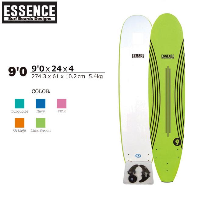ソフトボード サーフィンESSENCE SOFT BOARDS 9'0 SURFBOARD ロングボード サーフボード スポンジボード 板【店頭受取対応商品】