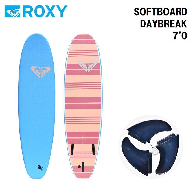 ソフトボード ROXY DAYBREAK 7'0 SURFBOARD スポンジボード ファンボード サーフボード サーフィン【店頭受取対応商品】