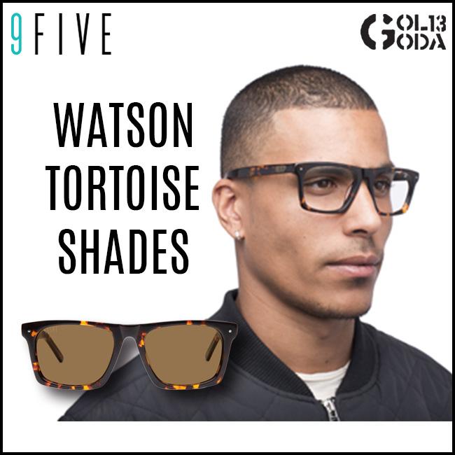 サングラス 9FIVE WATSON TORTOISE ナインファイブ/スケート HIP HOP界やNBAからも支持