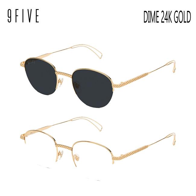 サングラス 9five DIME 24K Gold ナインファイブ/スケート HIP HOP界やNBAからも支持【店頭受取対応商品】