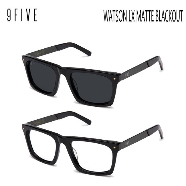 サングラス 9FIVE Watson LX Matte Blackout ナインファイブ/スケート HIP HOP界やNBAからも支持【店頭受取対応商品】