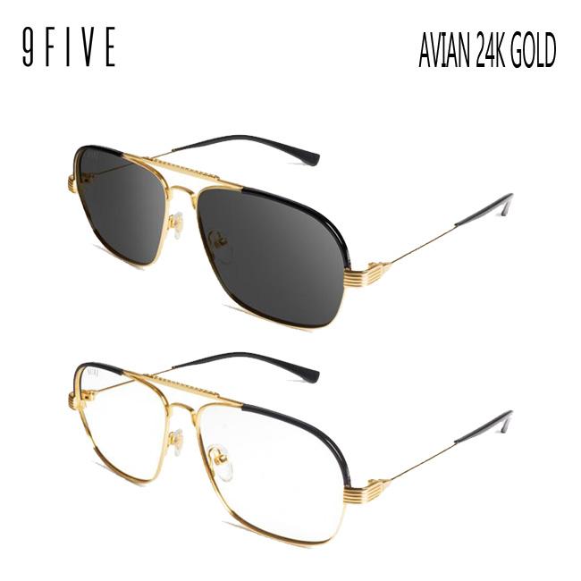 サングラス 9five Avian 24K Gold ナインファイブ/スケート HIP HOP界やNBAからも支持【店頭受取対応商品】