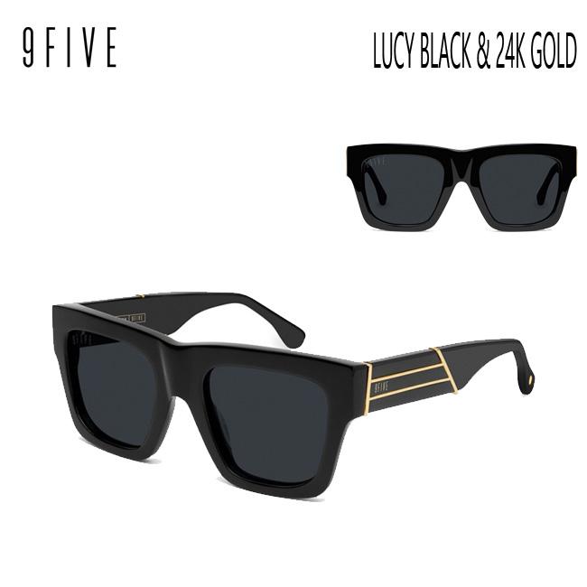 父の日のギフト・プレゼント サングラス 9five LUCY Black & 24K Gold Shades ナインファイブ/スケート HIP HOP界やNBAからも支持【店頭受取対応商品】
