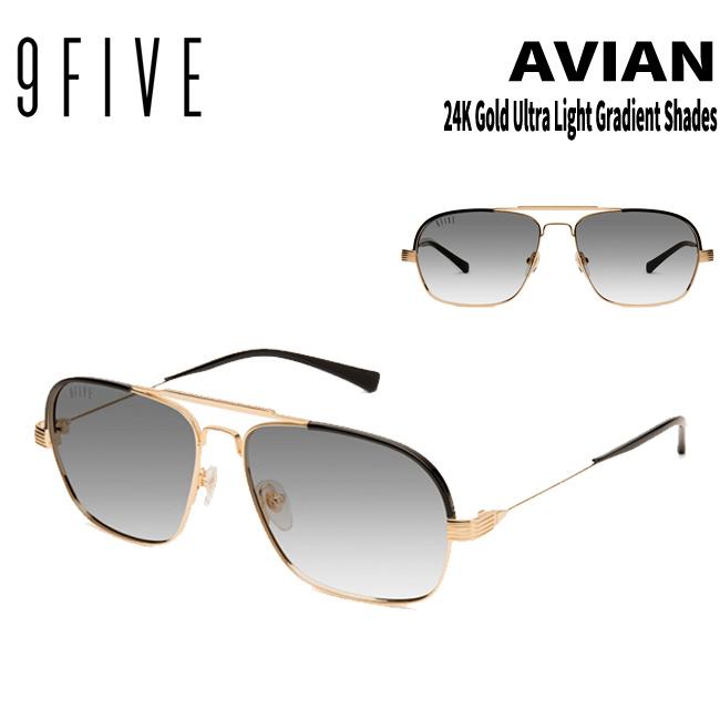 サングラス 9five Avian 24K Gold Ultra Light Gradient Shades ナインファイブ/スケート HIP HOP界やNBAからも支持【店頭受取対応商品】