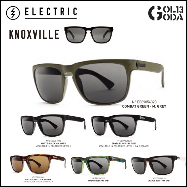 ELECTRIC KNOXVILLE KN13 エレクトリック LIFESTYLE サングラス Sunglass