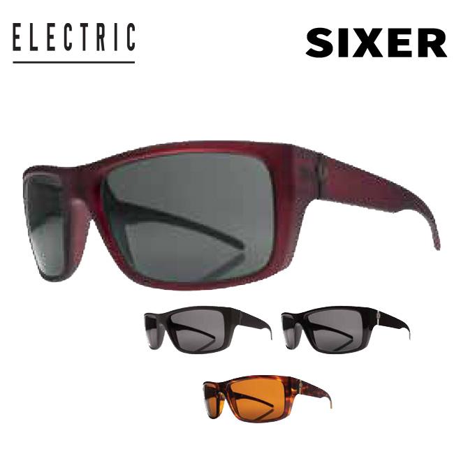 サングラス ELECTRIC エレクトリック SIXER MATTE BLACK/GLOSS BLACK/TORTOISE SHELL/CRIMSON SX12 Sunglass【店頭受取対応商品】【18SS】
