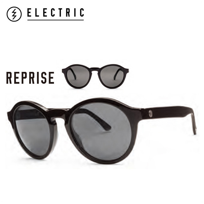 ELECTRIC REPRISE REP20 GLOSS BLACK/M.GREY エレクトリック サングラス Sunglass サングラス Electric サングラス electric【店頭受取対応商品】【18SS】