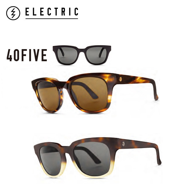 ELECTRIC 40FIVE 40F252 TORT SHELL/M.BRONZE,M.HONEY/M.GREY エレクトリック サングラス Sunglass【店頭受取対応商品】【SUMMER SALE】
