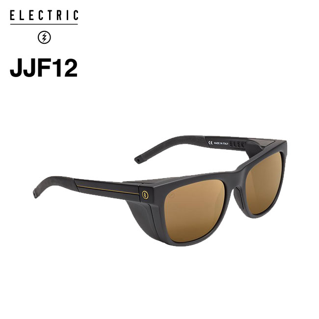 エレクトリック 偏光サングラス ELECTRIC JJF12 / MATTE BLACK / M BRONZE POLAR+ Sライン 釣り フィッシング 偏光レンズ