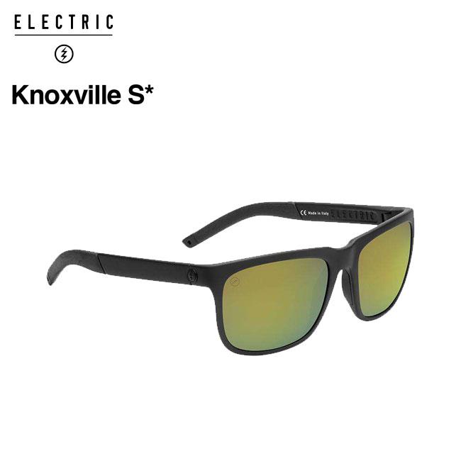 エレクトリック 偏光サングラス ELECTRIC KNOXVILLE S / MATTE BLACK / M GREEN POLAR+ Sライン 釣り フィッシング 偏光レンズ