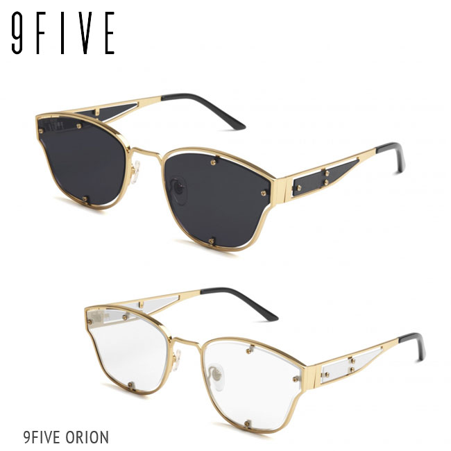 サングラス ナインファイブ 9five ORION オリオン Black & 24K Gold スケート HIP HOP界やNBAからも支持【店頭受取対応商品】