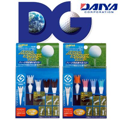 DAIYA(列车时间表高尔夫球)空气洛杉矶公园球座(球道木材&长铁杆)(TE-404)
