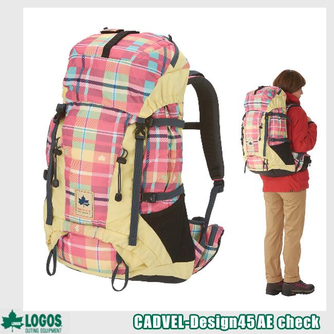 ロゴス CADVEL-Design45(AE・check) バックパック 88250155
