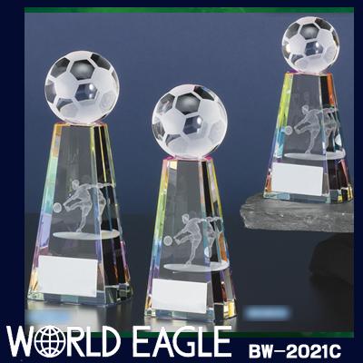 サッカーブロンズ BW-2021-C (高さ125mm)
