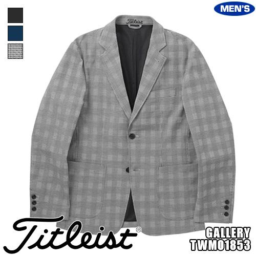 タイトリスト メンズ グレンチェック ジャケット 蓄熱保温素材 TWMO1853