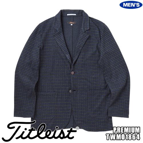 タイトリスト メンズ PREMIUM ガンクラブチェックジャケット Made in JAPAN TWMO1866