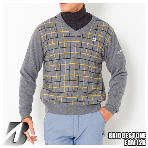 ブリヂストンゴルフ カシミヤ メンズ カシミヤ EGM12B Vネックセーター メンズ チェック柄デザイン EGM12B, interzoo clinicclub:cb5bbcfb --- vietwind.com.vn