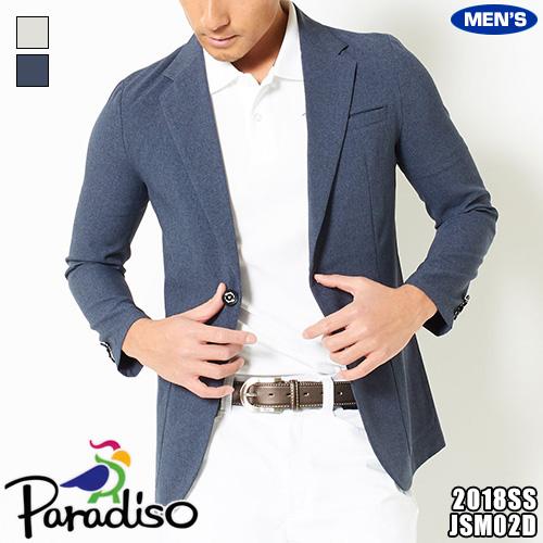 パラディーゾ メンズ ジャケット 2WAYストレッチ JSM02D