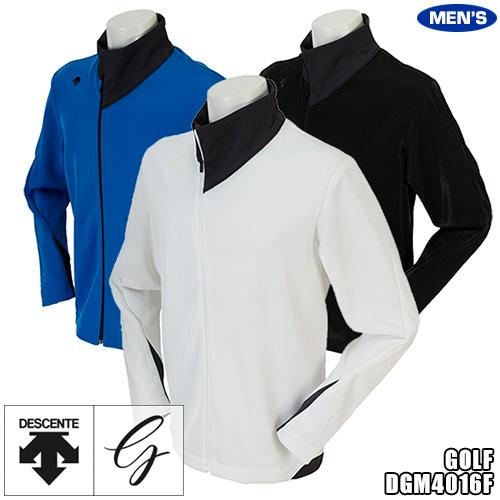 デサントゴルフ メンズ ウインドジャケット アシンメトリーデザイン DGM4016F