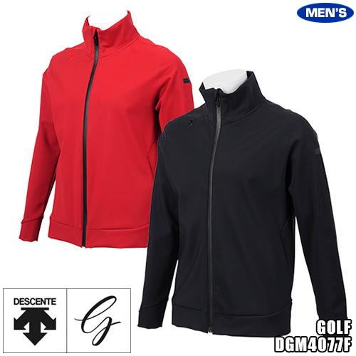 デサントゴルフ メンズ ボンディング ウィンドジャケット ユーロジャージー DGM4077F