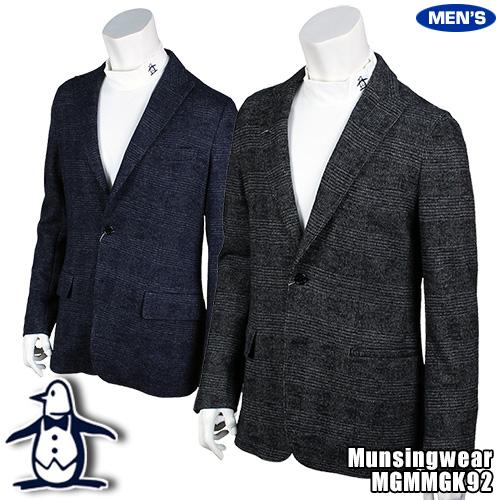 マンシング メンズ グレンチェック テーラードジャケット MGMMGK92