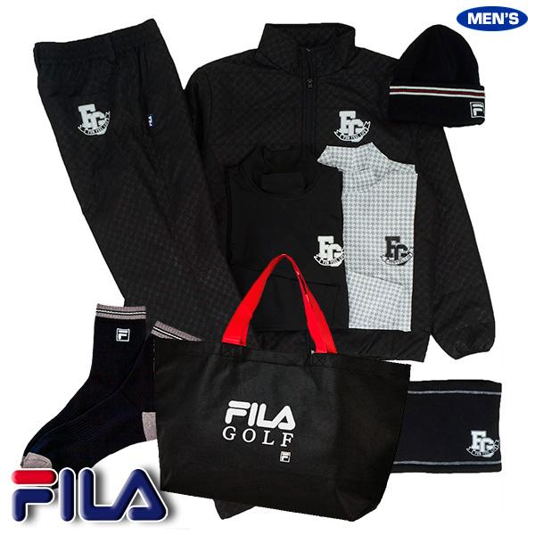 フィラ ゴルフ FILA 2020年新春福袋 メンズ ブラックセット 789100