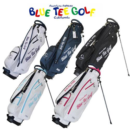 ブルーティーゴルフ 数量は多 クラシックハワイアン ユニセックス スタンドバッグ 軽量キャディバッグ 8型 TEE GOLF ふるさと割 男女兼用 BLUE CB-015