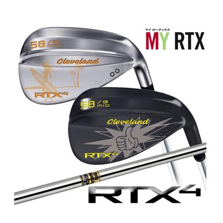 【特注品】【2本セット】クリーブランド RTX4マイローテックスカスタムウェッジ ダイナミックゴールドシャフト
