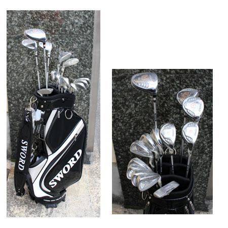 【特典ボストンバッグ付き】カタナゴルフ ATC55 メンズゴルフクラブセット 13本組 キャディバッグ付き