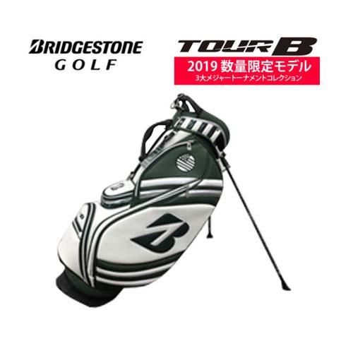 ブリヂストンゴルフ 2019年マスターズ限定モデルスタンドキャディバッグ メンズキャディバッグ CBG971 19年メジャーコレクション