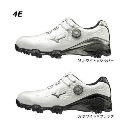 ミズノ ゴルフシューズ ジェネム009ボア メンズゴルフシューズ GENEM009 Boa 51GQ1900 【4E】