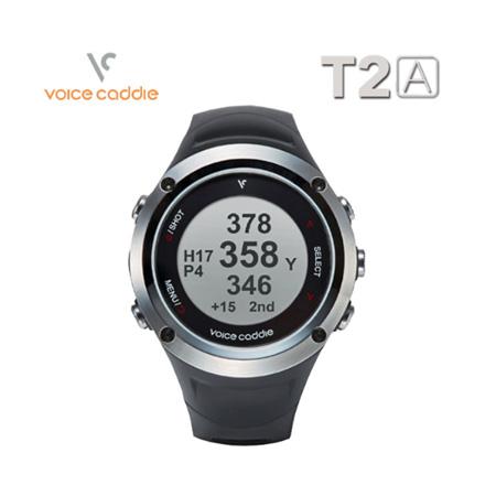 ボイスキャディT2A ウォッチ型GPSゴルフナビ 腕時計型 距離計測器 (防水機能付き) voice caddie?2018年モデル