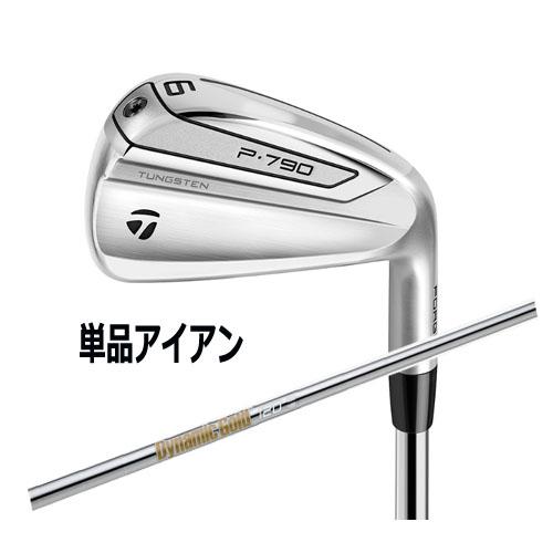 テーラーメイド New P790アイアン 日本正規品 2019年モデル 単品アイアン(#3、#4)ダイナミックゴールド 120 VSS シャフト