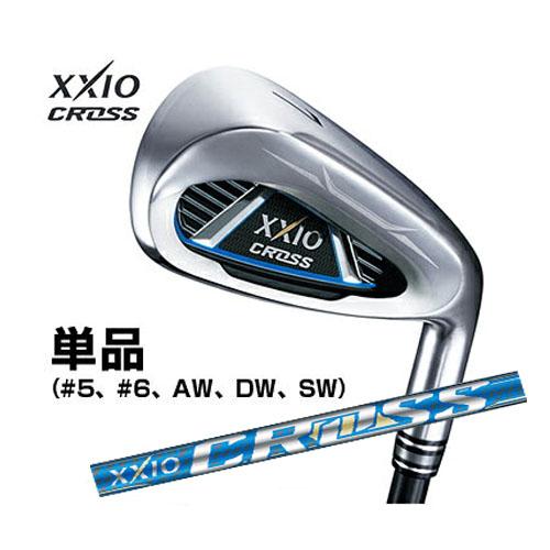 ダンロップ 日本正規品 XXIO CROSS ゼクシオ クロスアイアン 2019年モデル 単品アイアン (#5、6、AW、DW、SW) ゼクシオMH1000カーボンシャフト