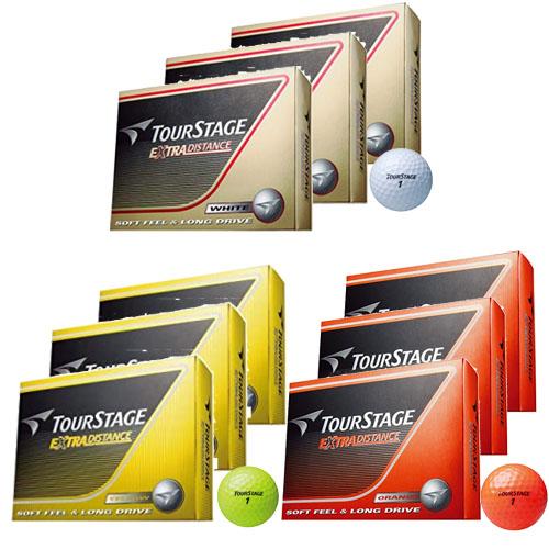 内祝い 3ダースまとめ買い ブリヂストン ゴルフ ボール 定番スタイル 36球 ツアーステージ エクストラディスタンス 3ダース